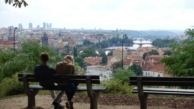 Letna park Prague