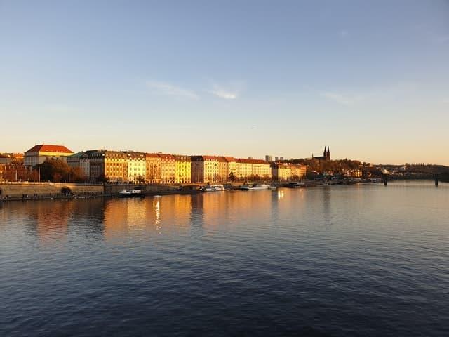 Smichovska naplavka Prague